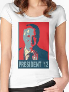 Beck President '12 Women's Fitted Scoop T-Shirt