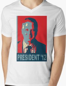 Beck President '12 Mens V-Neck T-Shirt