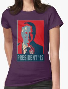 Beck President '12 Womens Fitted T-Shirt