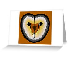 Gay bear pride owl Greeting Card