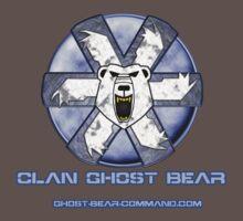 Ghost Bear Community Logo Kids Clothes