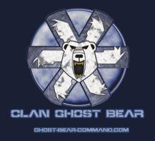 Ghost Bear Community Logo Baby Tee