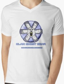 Ghost Bear Community Logo Mens V-Neck T-Shirt