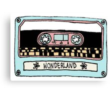 Wonderland Casette - Taylor Swift | #InfiniteTARDISMerch Canvas Print