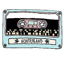 Wonderland Casette - Taylor Swift | #InfiniteTARDISMerch Photographic Print