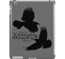 Thought & Memory iPad Case/Skin