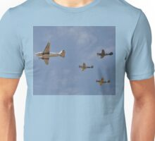 WW2 Formation Flypast, Point Cook Airshow, Australia 2014 Unisex T-Shirt