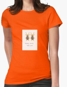 Weevil Weevil Rock You Womens Fitted T-Shirt