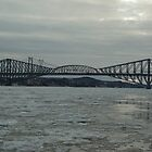 Québec Bridge  by scry