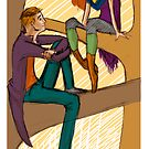 Autumn - fashion illustration and romance by Alex e Clark