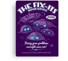The Fix-Its Repair Service Canvas Print