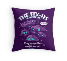 The Fix-Its Repair Service Throw Pillow