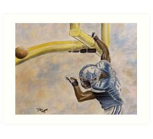 The extra point Art Print