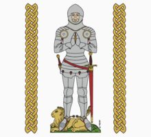 English Knight Circa 1430 One Piece - Long Sleeve