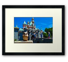 Sleeping Beauty's Castle Framed Print