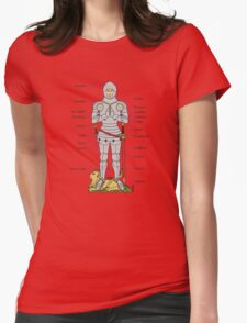 Plate Armour Circa 1430 Womens Fitted T-Shirt