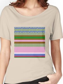 Spotty and Stripey Women's Relaxed Fit T-Shirt