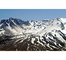 The Crater of Mt. St. Helens Photographic Print