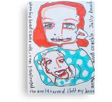 JellyHead Canvas Print