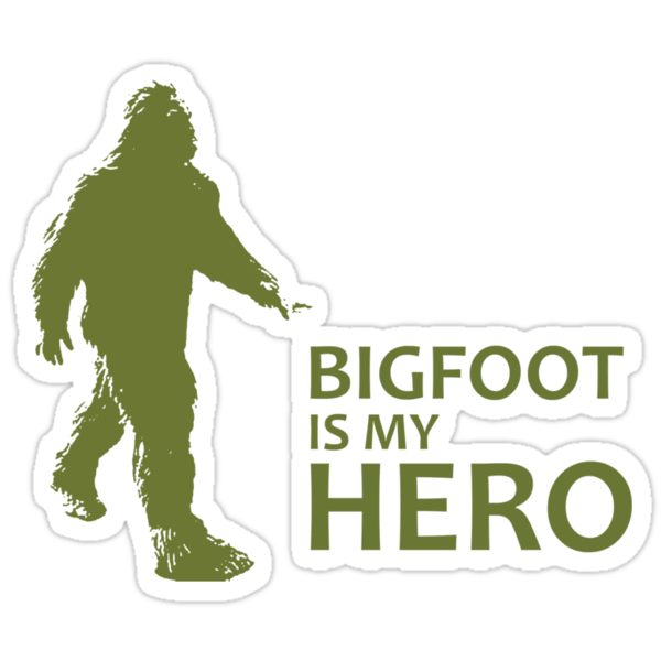 Big Foot T-shirt by J. William Grantham
