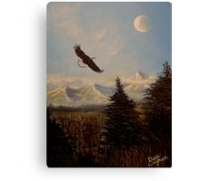 Ride the Wind Canvas Print
