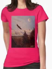 Ride the Wind Womens Fitted T-Shirt