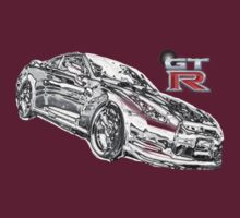 Silver Motion GT-R by Finlay Cowe