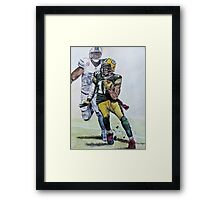A Cut above the rest. Framed Print
