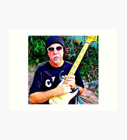 Cliff Guest - Guitar Player Art Print
