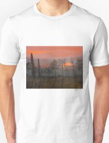 Silent Sentinels in the Sunset. T-Shirt