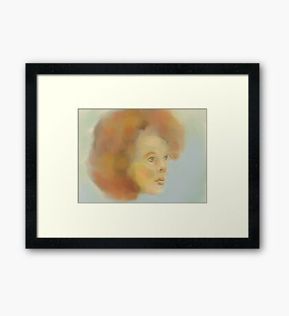 Pastel Pleasure Framed Print