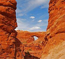 Red Rock Window by Dionne A. Ward