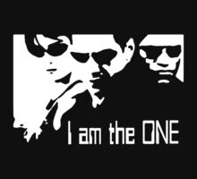 Stencil The Matrix Tribute The One by C11W11S