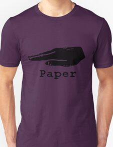Rock Paper Scissors T-shirt (PAPER) T-Shirt