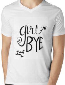 Girl Bye Mens V-Neck T-Shirt