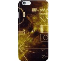 Voyager Golden Record iPhone Case/Skin
