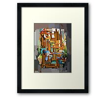 Collage Construct No. 1 Framed Print