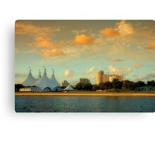 Scenes from Miami VI Canvas Print