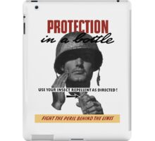 Use Your Insect Repellent As Directed! -- WW2 iPad Case/Skin