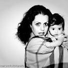mother & child by Angel Warda