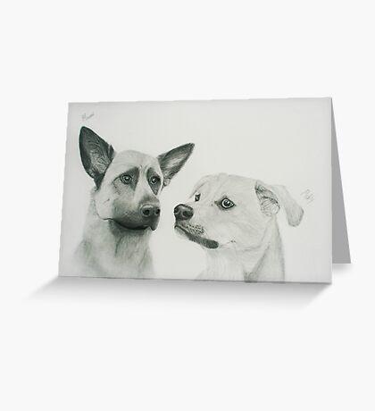Morgan & Molly Greeting Card