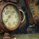 Steam Roller Detail - Perris CA by Larry Costales