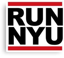 RUN NYU Canvas Print