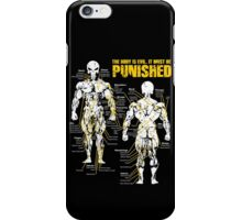 The body is evil. It must be punished iPhone Case/Skin