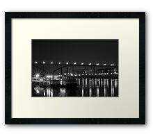St Paul Bridge In Black & White Framed Print