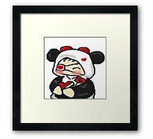 Silly Chibi Framed Print