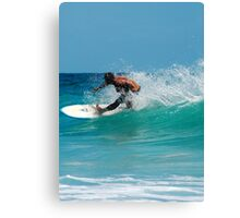 SURFER RULES  Canvas Print