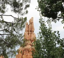 Big Thunder Mountain Disneyland Sticker