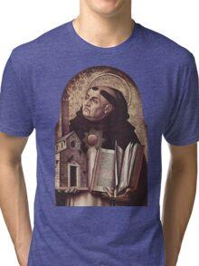 Thomas Aquinas Tri-blend T-Shirt