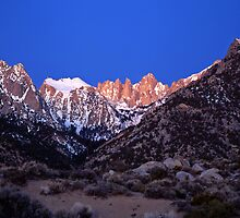 Mt. Whitney #2 by Mike Norton